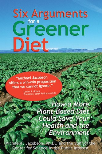 Large book cover: Six Arguments for a Greener Diet