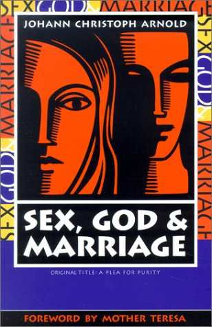 Large book cover: Sex, God, and Marriage