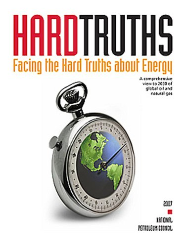 Large book cover: Hard Truths: Facing the Hard Truths About Energy