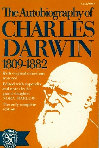 Large book cover: The Autobiography of Charles Darwin