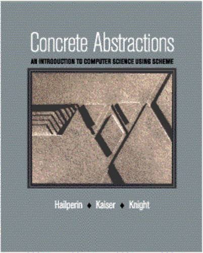 Large book cover: Concrete Abstractions: An Introduction to Computer Science Using Scheme