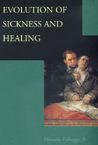 Large book cover: Evolution of Sickness and Healing