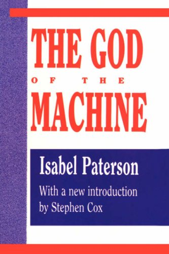 Large book cover: The God of the Machine