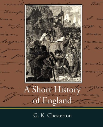 Large book cover: A Short History of England