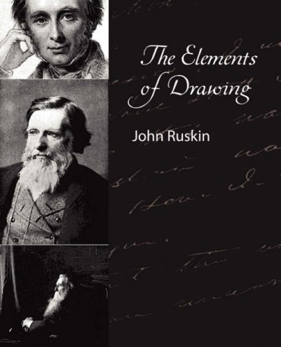 Large book cover: The Elements of Drawing