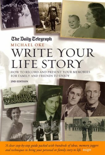 Large book cover: Write Your Life Story