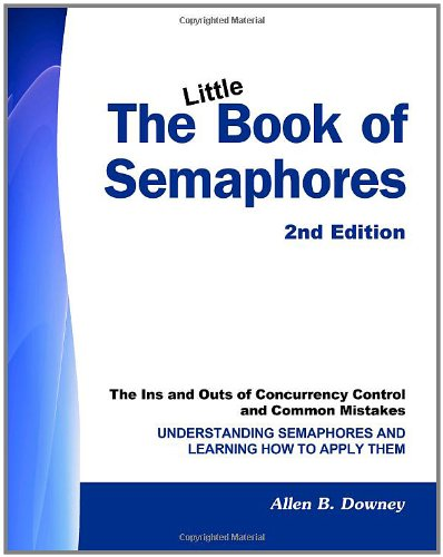 Large book cover: The Little Book of Semaphores