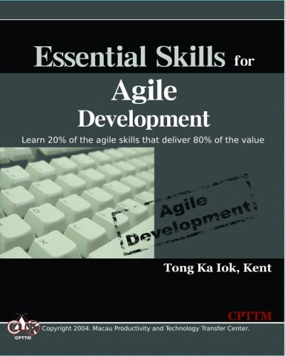 Large book cover: Essential Skills for Agile Development