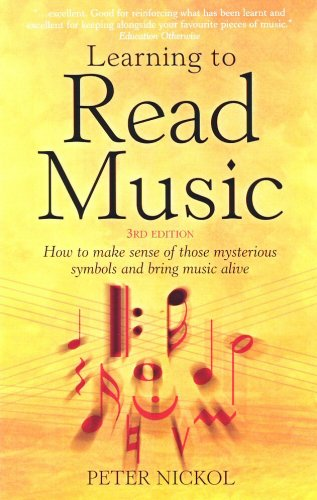Large book cover: Learning to Read Music