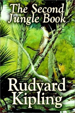 Large book cover: The Second Jungle Book