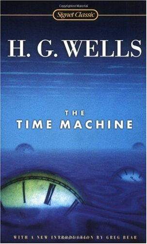 Large book cover: The Time Machine