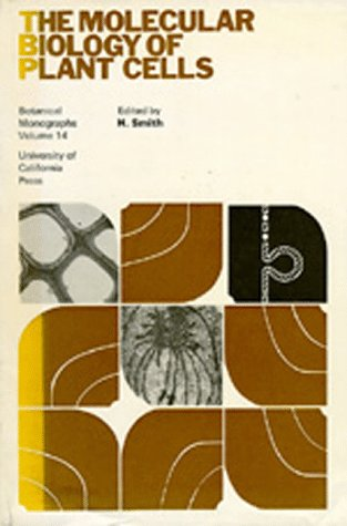 Large book cover: The Molecular Biology of Plant Cells