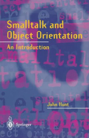 Large book cover: Smalltalk and Object Orientation: An Introduction