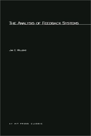 Large book cover: The Analysis of Feedback Systems