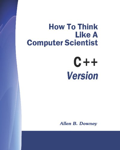 Large book cover: How to think like a Computer Scientist (C++ Version)