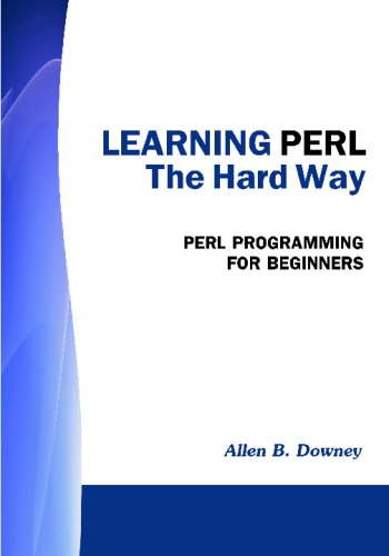 Large book cover: Learning Perl the Hard Way