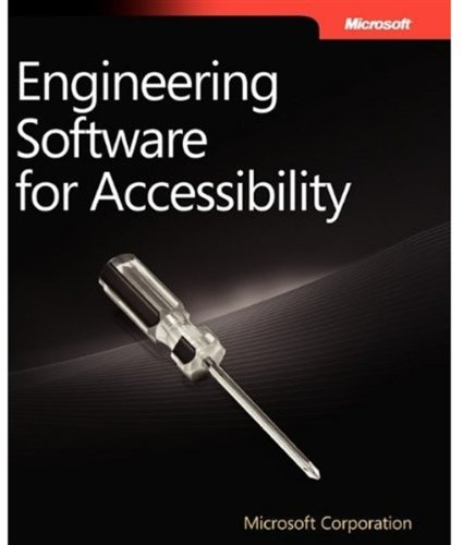 Large book cover: Engineering Software for Accessibility