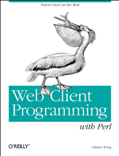 Large book cover: Web Client Programming with Perl