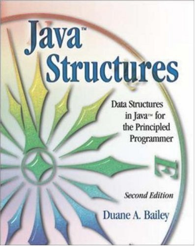 Large book cover: Java Structures: Data Structures in Java for the Principled Programmer