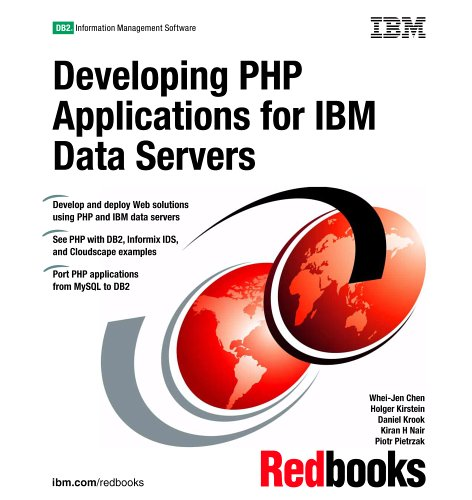 Large book cover: Developing PHP Applications for IBM Data Servers