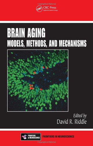 Large book cover: Brain Aging: Models, Methods, and Mechanisms
