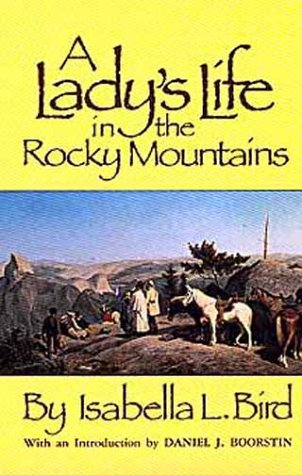 Large book cover: A Lady's Life in the Rocky Mountains