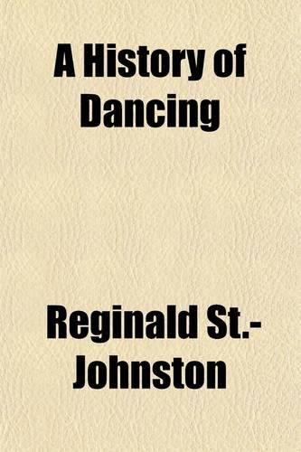 Large book cover: A History of Dancing