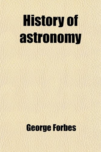 Large book cover: History of Astronomy