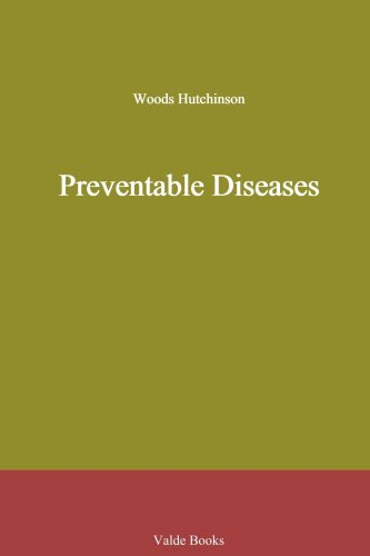 Large book cover: Preventable Diseases