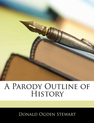 Large book cover: A Parody Outline of History