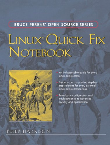 Large book cover: Linux Quick Fix Notebook