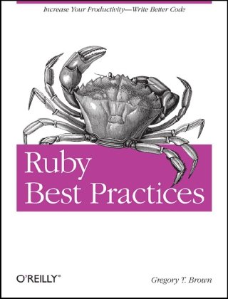 Large book cover: Ruby Best Practices