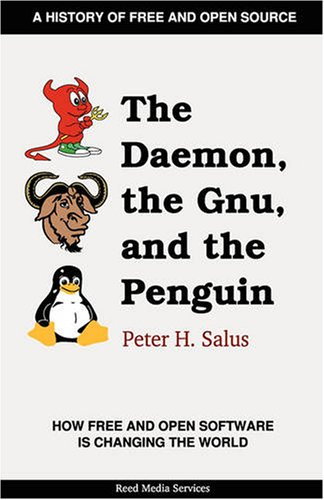 Large book cover: The Daemon, the Gnu, and the Penguin