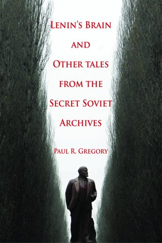Large book cover: Lenin's Brain and Other Tales from the Secret Soviet Archives
