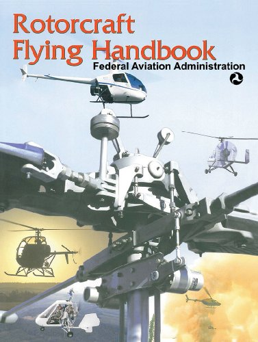 Large book cover: Rotorcraft Flying Handbook
