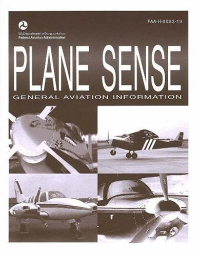 Large book cover: Plane Sense: General Aviation Information