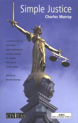 Large book cover: Simple Justice