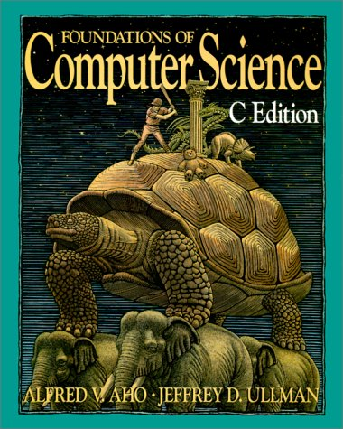 Large book cover: Foundations of Computer Science: C Edition