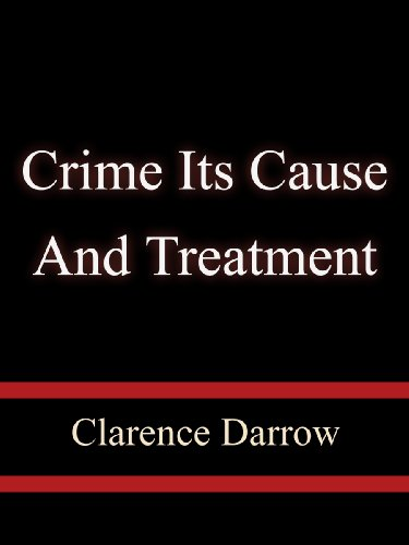 Large book cover: Crime: Its Cause and Treatment