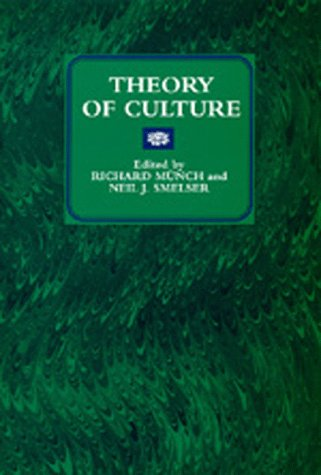 Large book cover: Theory of Culture