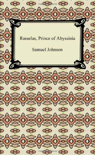 Large book cover: Rasselas, Prince of Abyssinia