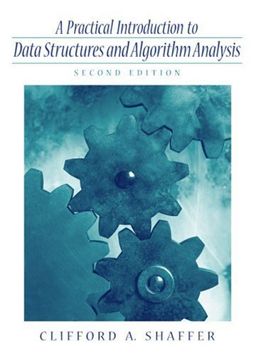 Large book cover: A Practical Introduction to Data Structures and Algorithm Analysis