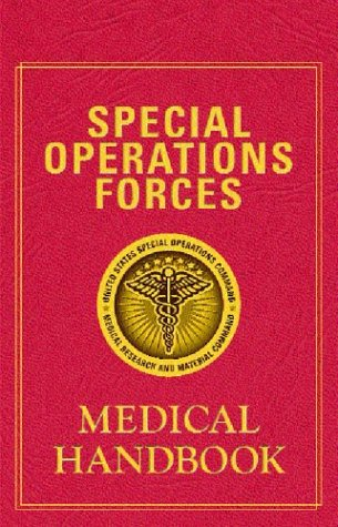 Large book cover: Special Operations Forces Medical Handbook