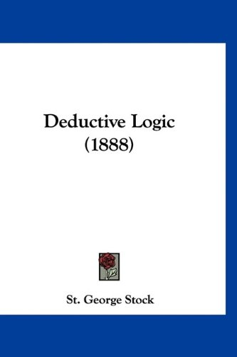 Large book cover: Deductive Logic