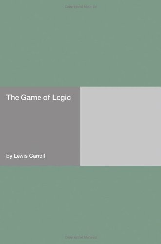 Large book cover: The Game of Logic