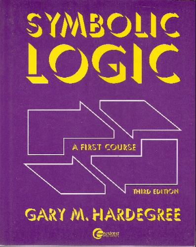 Large book cover: Symbolic Logic: A First Course