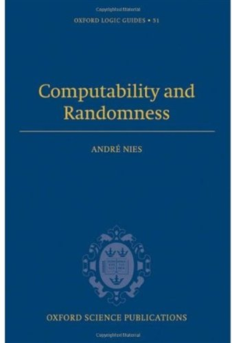 Large book cover: Computability and Randomness