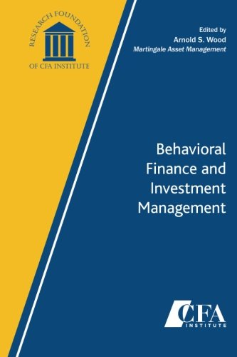 Large book cover: Behavioral Finance and Investment Management