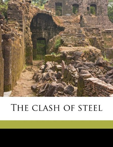 Large book cover: The Clash of Steel