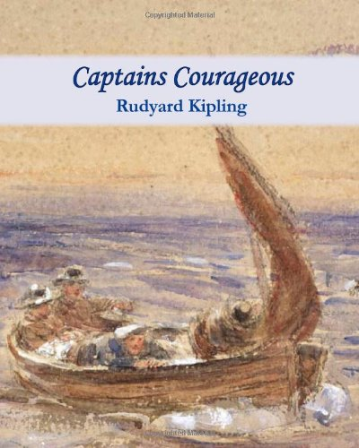 Large book cover: Captains Courageous